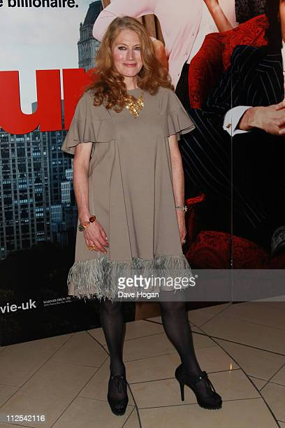 Geraldine James attends the European premiere of Arthur at the Cineworld O2 on April 19 2011 in London England