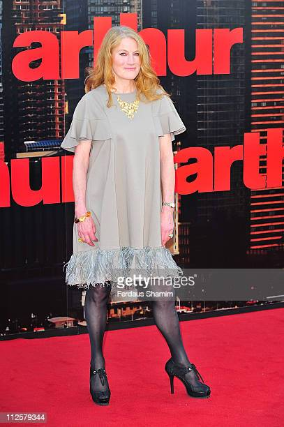 Geraldine James attends the European premiere of 'Arthur'at Cineworld 02 Arena on April 19 2011 in London England