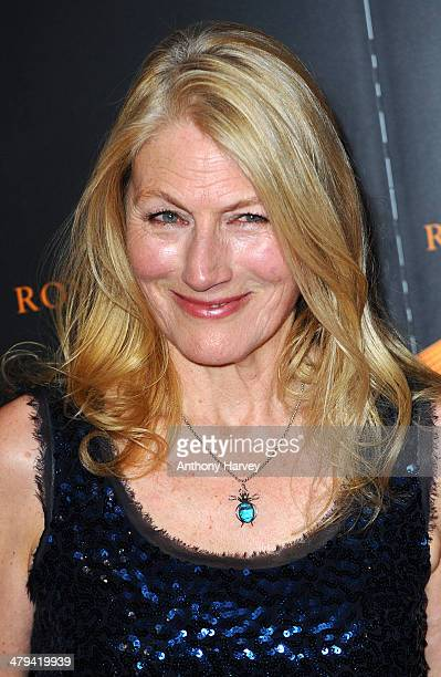 Geraldine James attends the RTS programme awards at Grosvenor House on March 18 2014 in London England