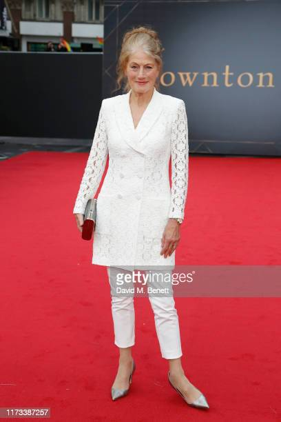 Geraldine James attends the World Premiere of Downton Abbey at Cineworld Leicester Square on September 09 2019 in London England