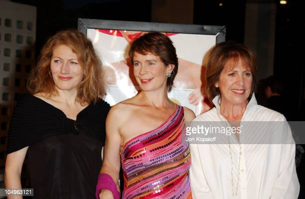Geraldine James Celia Imrie and Penelope Wilton during AFI Film Festival Opening Premiere of Calendar Girls at The Cinerama Dome in Hollywood...