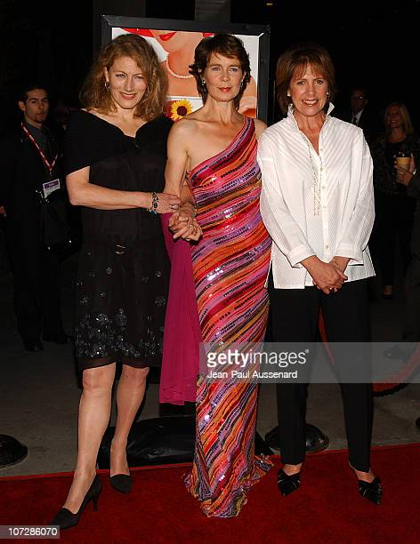 Geraldine James Celia Imrie and Penelope Wilton during Calendar Girls AFI Film Festival Opening and North American Premiere Arrivals at Cinerama Dome...