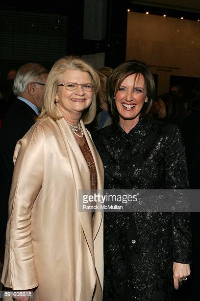 Geraldine Laybourne and Anne Sweeny attend She Made It The Museum of Television and Radio Celebrates the Writers Directors Producers Journalists...