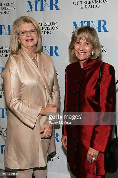 Geraldine Laybourne and Kay Koplovitz attend She Made It The Museum of Television and Radio Celebrates the Writers Directors Producers Journalists...