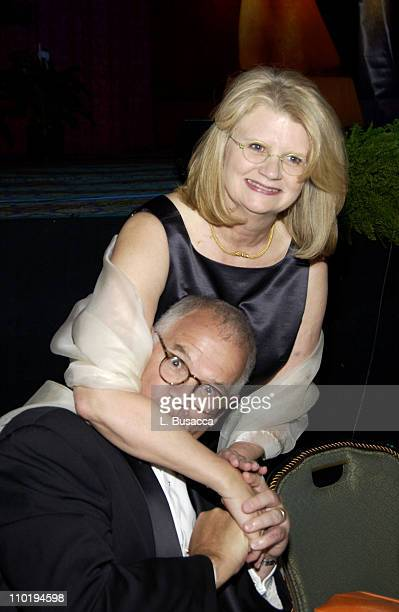 Geraldine Laybourne and Kit Laybourne during American Women in Radio Television 29th Annual Gracie Allen Awards Inside at Hilton Hotel in New York...