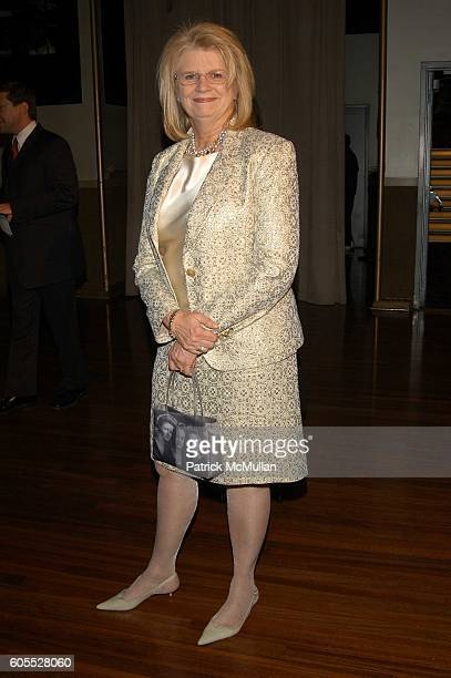 Geraldine Laybourne attends NY Stage and Film Gala at Copacabana NYC USA on January 12 2006 in New York NY