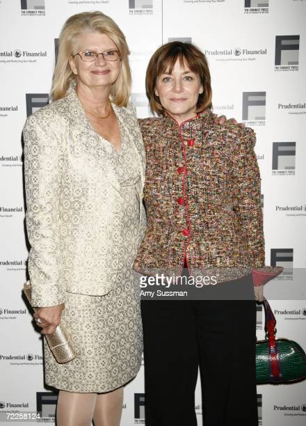 Geraldine Laybourne CEO of Oxygen Network and Deborah Beece Oxygen Network's President of Programming attend the 36th Anniversary Gala of The...