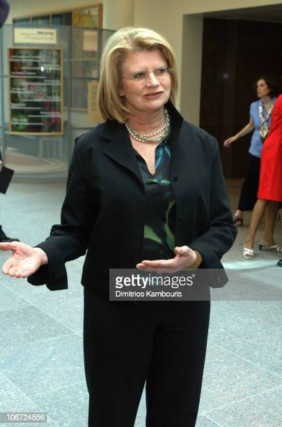 Geraldine Laybourne Chairman and CEO of Oxygen during St Jude Childrens Research Hospital Shower of Stars 40th Anniversary Hospital Tour at St Jude...