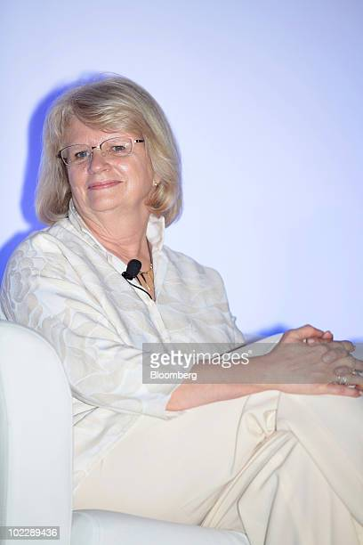 Geraldine Laybourne former chairman and chief executive officer of Oxygen Media LLC attends the Dell Women's Entrepreneur Network conference in...