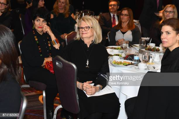 Geraldine Laybourne Media Entrepreneur and CoFounder of Oxygen Media is recognized at Women Who Lead presented by Alliance For Women In Media at...