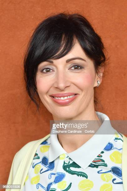 Geraldine Maillet attends the 2018 French Open Day Ten at Roland Garros on June 5 2018 in Paris France