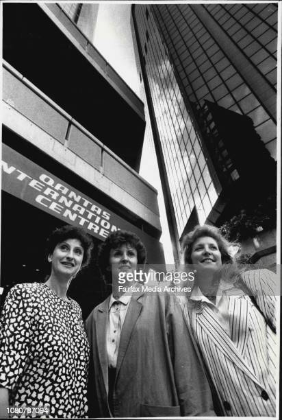Geraldine McLaren Joan Gilbert and Patricia Ryan up in the air over victoryQantas faces a payout of at least half a million dollars following a...