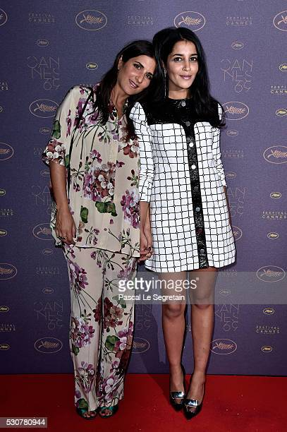 Geraldine Nakache and Leila Bekhti arrive at the Opening Gala Dinner during the 69th Annual Cannes Film Festival on May 11 2016 in Cannes France