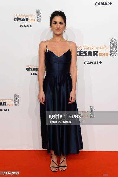 Geraldine Nakache arrives at the Cesar Film Awards 2018 At Salle Pleyel on March 2 2018 in Paris France