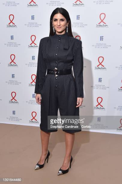 Geraldine Nakache attends Sidaction Gala Dinner 2020 At Pavillon Cambon on January 23 2020 in Paris France