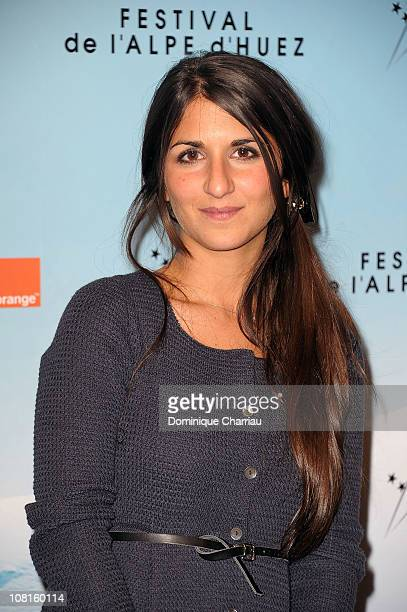 Geraldine Nakache attends the 14th Film Festival Of L'Alpe D'Huez on January 19 2011 in Alpe d'Huez France