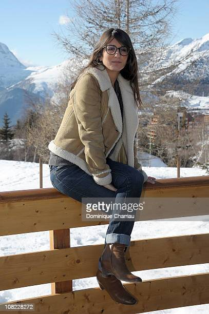 Geraldine Nakache attends the 14th Film Festival Of L'Alpe D'Huez on January 21 2011 in Alpe d'Huez France