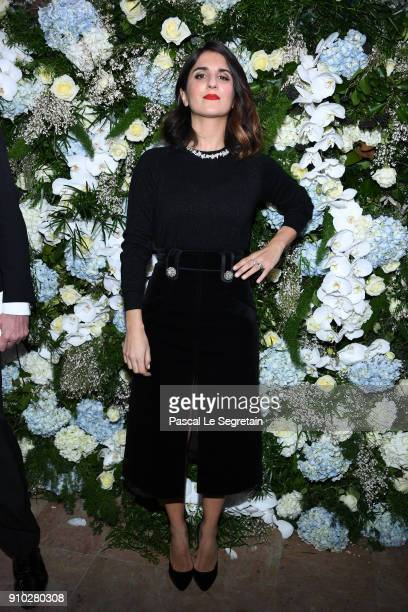 Geraldine Nakache attends the 16th Sidaction as part of Paris Fashion Week on January 25 2018 in Paris France