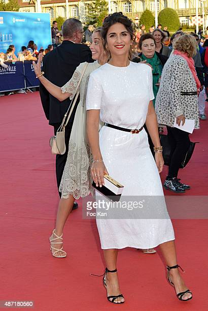 Geraldine Nakache attends the 'Jamais Entre Amis' Premiere during the 41st Deauville American Film Festival on September 6 2015 in Deauville France