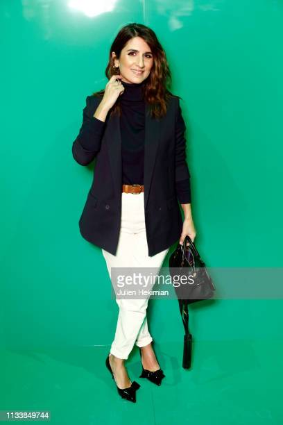 Geraldine Nakache attends the Lacoste show as part of the Paris Fashion Week Womenswear Fall/Winter 2019/2020 on March 05 2019 in Paris France