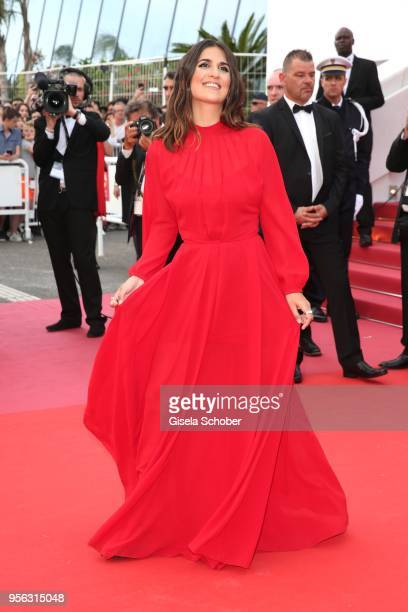 Geraldine Nakache attends the screening of 'Everybody Knows ' and the opening gala during the 71st annual Cannes Film Festival at Palais des...