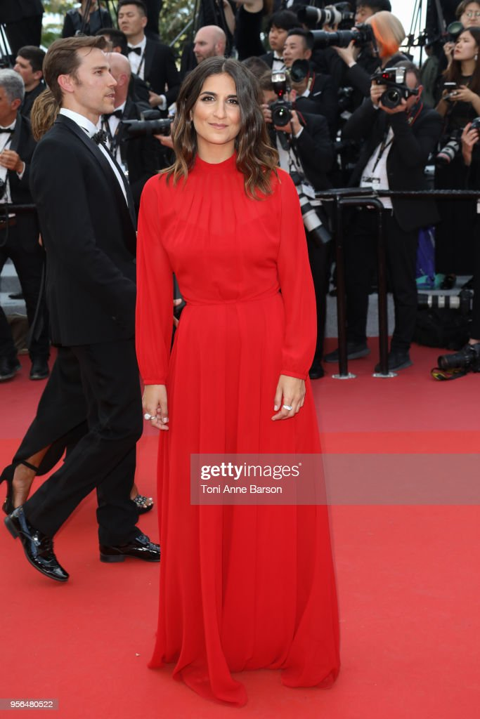 Geraldine Nakache attends the screening of 'Everybody Knows (Todos Lo Saben)' and the opening gala during the 71st annual Cannes Film Festival at Palais des Festivals on May 8, 2018 in Cannes, France.