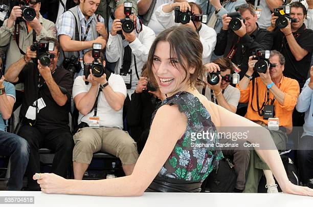 Geraldine Pailhas at the Photocall for 'Rebecca H ' during the 63rd Cannes International Film Festival