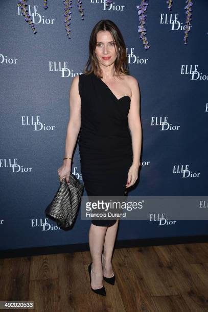 Geraldine Pailhas attends the Dior ELLE Magazine Dinner at the 67th Annual Cannes Film Festival at Albane by Costes JW Marriott Rooftop on May 18...
