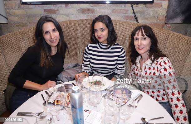 Geraldine Viswanathan and guests attend the ChefDance 2019 Day 3 on January 27 2019 in Park City Utah