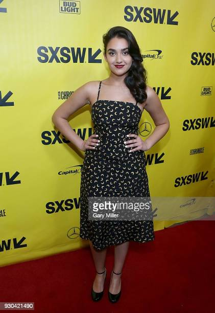 Geraldine Viswanathan attends the premiere of Blockers at the Paramount Theatre on March 10 2018 in Austin Texas