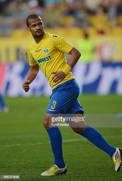 Geraldo Alves of FC Petrolul Ploiesti in action during the Romanian First Division match between FC Petrolul Ploiesti and FC Astra Ploiesti held on...