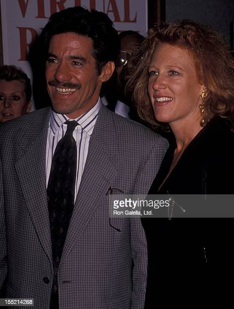 Geraldo River and wife CC Dyer attend 500th Episode Celebration for Montel Williams on november 30 1993 at the Museum of Television and Radio in New...