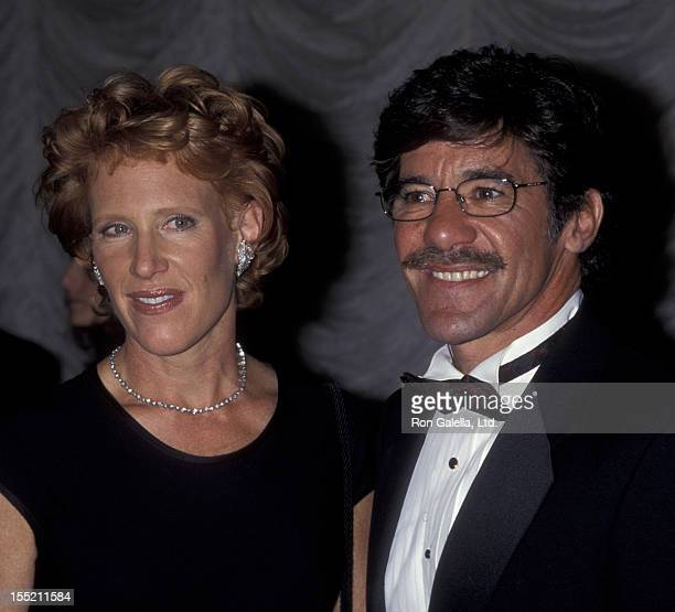 Geraldo Rivera and CC Dyer attend GP Charitable Foundation Gala Honoring Milton Berle on October 12 1998 at the Sheraton Hotel in New York City