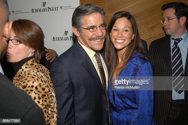 Geraldo Rivera and Erica Levy attend Quincy Jones Q PRIZE Celebration hosted by AUDEMARS PIGUET at The Core Club on January 24 2007 in New York City