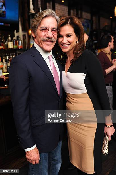 Geraldo Rivera and Erica Levy attend the Out For Blood book launch event at Ivy Bar And Grill on November 4 2013 in New York City