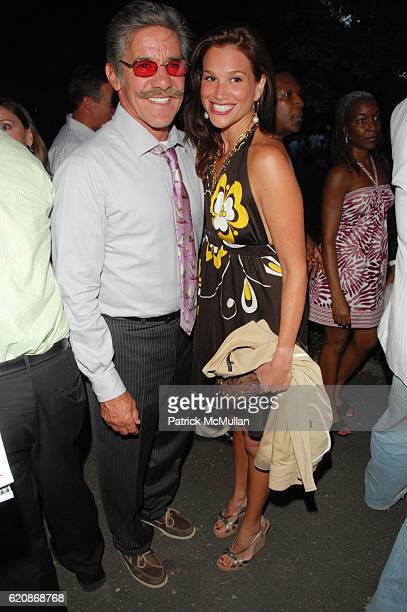 Geraldo Rivera and Erica Levy attend THE PUBLIC THEATER presents the Opening Night of HAIR at Shakespeare in the Park and afterparty at Delacorte...