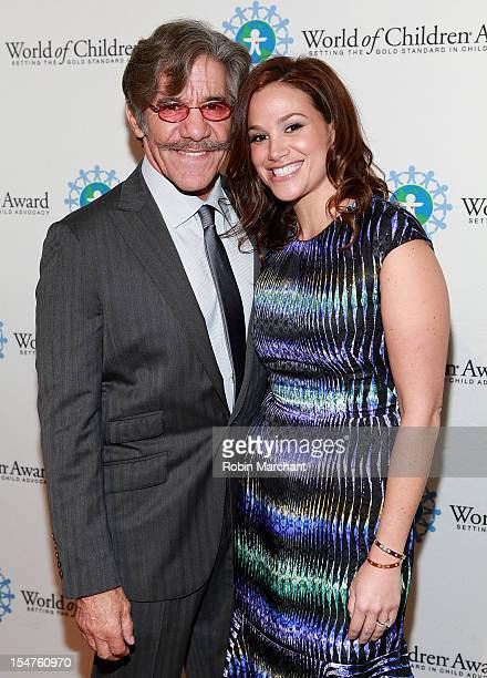 Geraldo Rivera and his wife Erica Levy attend 15th Annual World Of Children Awards Ceremony at 583 Park Avenue on October 25 2012 in New York City