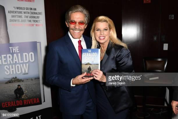 Geraldo Rivera and Rita Cosby attend Sean Hannity Friends Celebrate the Publication of The Geraldo Show A Memoir By Geraldo Rivera at Del Frisco's on...