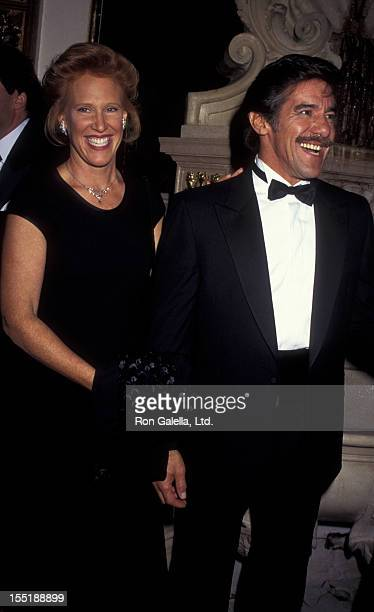 Geraldo Rivera and wife CC Dyer attend Casita Maria Fiesta Honoring Geraldo Rivera and Laura Esquivel on October 25 1995 at the Plaza Hotel in New...