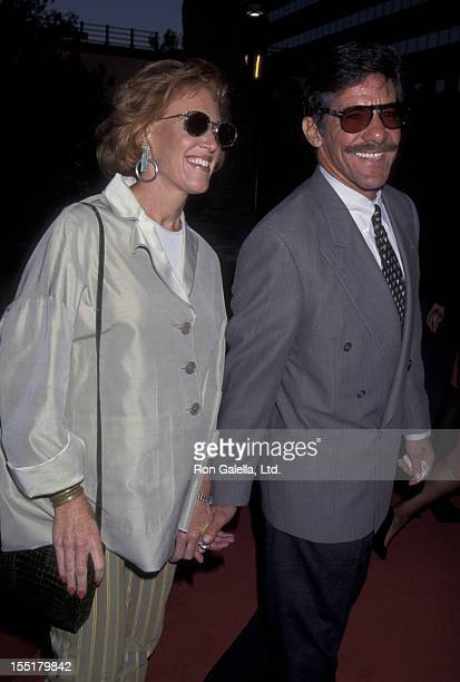Geraldo Rivera and wife CC Dyer attend the premiere of The Nutty Professor on June 27 1996 at the Universal Studio in Universal City California