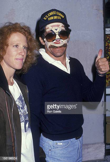 Geraldo Rivera and wife CC Dyer sighted on November 4 1988 at his doctor's office in New York City