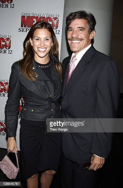 Geraldo Rivera and wife during New York Premiere of Once Upon a Time in Mexico Inside Arrivals at Loews Lincoln Square Theatre in New York City New...