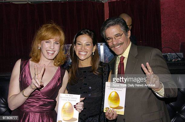 Geraldo Rivera and wife Erica host a party for the launch of Liz Claman's new book The Best Investment Advice I Ever Received at club Home on W 27th...