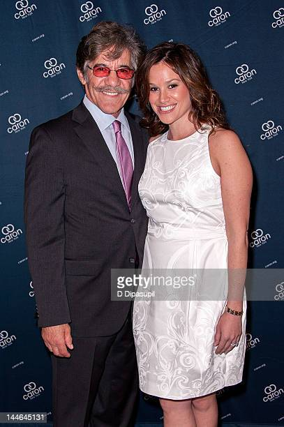Geraldo Rivera and wife Erica Rivera attend the 2012 Caron New York Gala at Cipriani 42nd Street on May 16 2012 in New York City
