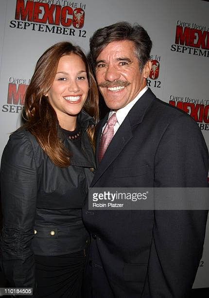 Geraldo Rivera and wife Erika during Once Upon A Time In Mexico New York Premiere at Loews Lincoln Square in New York City New York United States