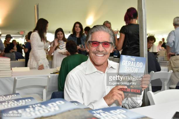 Geraldo Rivera attends Authors Night At East Hampton Library on August 11, 2018 in East Hampton, New York.