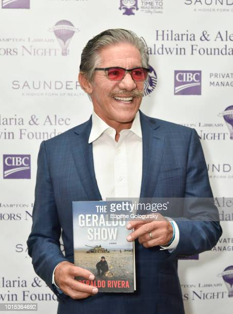 Geraldo Rivera attends Authors Night At East Hampton Library on August 11 2018 in East Hampton New York