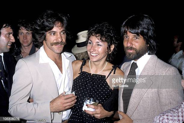 Geraldo Rivera guest and Jon Peters during Geraldo Rivera and Jon Peters Sighting in New York City 1978 in New York City NY United States