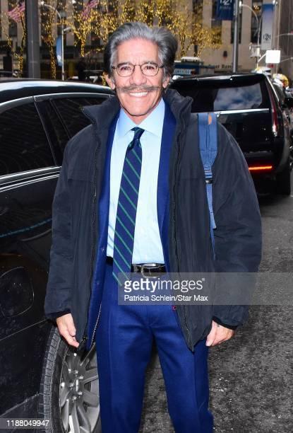Geraldo Rivera is seen on December 11 2019 in New York City