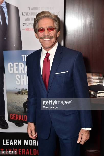 Geraldo Rivera Launches His New Book The Geraldo Show A Memoir at Del Frisco's Grille on April 2 2018 in New York City
